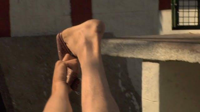 Supta Padangushthasana (Supine Big Toe Posture)