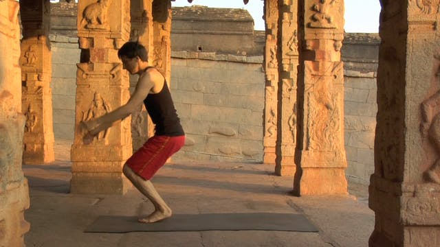 Transition Between Standing Postures