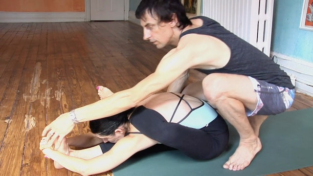 Eka Pada Sirsasana Advanced Work