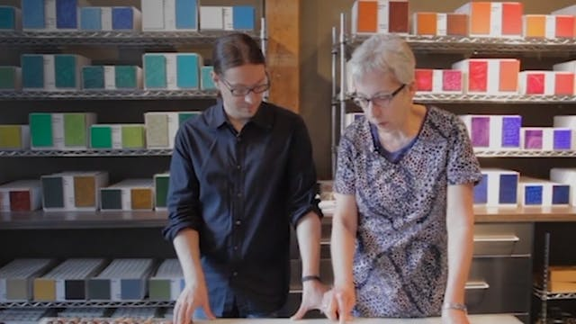 Color Palette Discussion with Vasari Oil Colors.