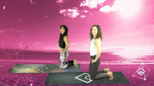 12 Min Yoga with Ally | Connection | Oxytocin