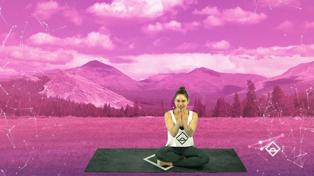 22 Min Gentle Flow + Stretch with Alyssa | Connection | Oxytocin