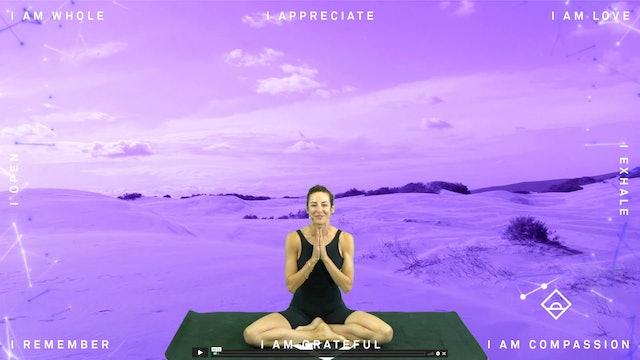 NEW | 25 Min Yoga with Sarrah | Presence | Endorphins