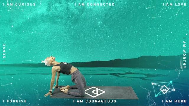 33 Min Yoga Flow with Karine | Curiosity | Dopamine