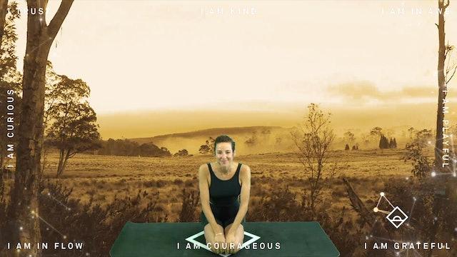 NEW | 36 Min Yoga with Sarrah | Ferocity | Serotonin
