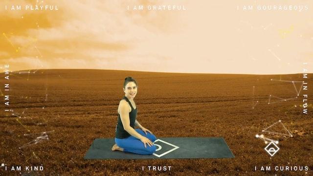 NEW | 33 Min Yoga Flow with Alyssa | Gratitude | Serotonin