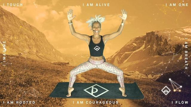Day 7 | Serotonin | 11 min Yoga DOSE | Mantra Practice with Karine