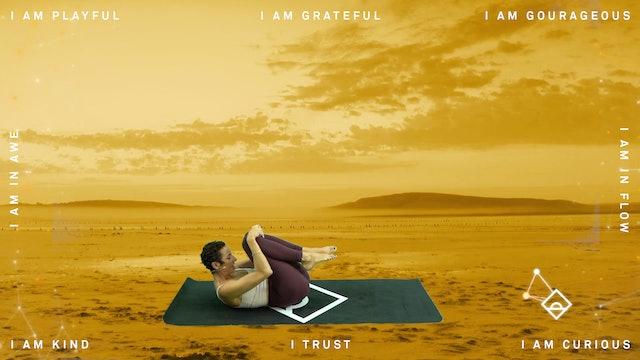 NEW | 22 Min Yoga with Sarrah | Gratitude | Serotonin
