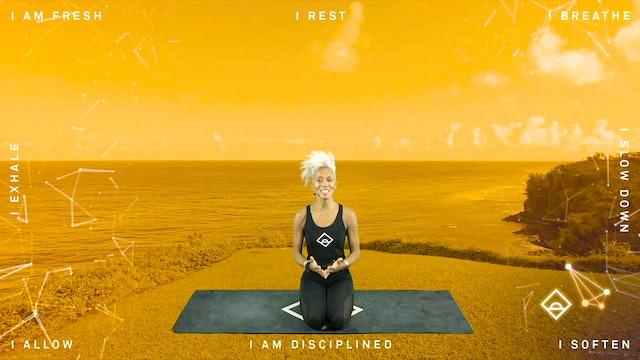 NEW | 33 Min Yoga with Karine | Gratitude | Serotonin