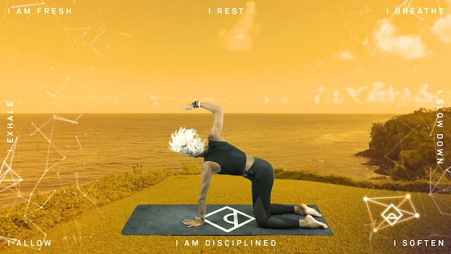 NEW 2.24 | Serotonin | 33 Min Yoga | Rise Like the Sun with Karine