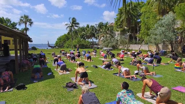 50 Min Yoga in Miami with Tiff Topia | Play | Dopamine