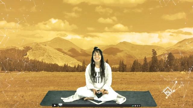 12 Min Meditation with Radha | 5 Sense Activation | Serotonin