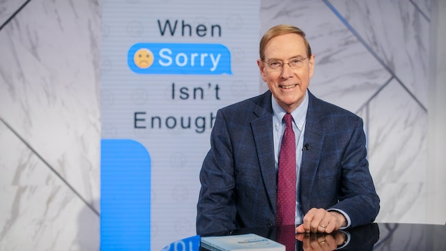 When Sorry Isn't Enough | Dr. Gary Chapman