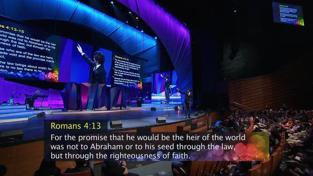 Inherit God's Promises By Faith, Not ...