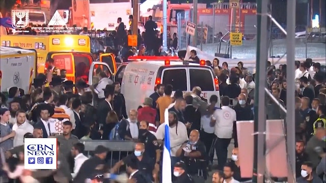 'Great Tragedy' Hits Israel, Dozens Trampled to Death at Jewish Festival