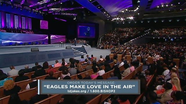 Eagles Make Love in the Air