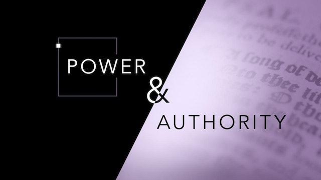 Power & Authority | John Paul Jackson