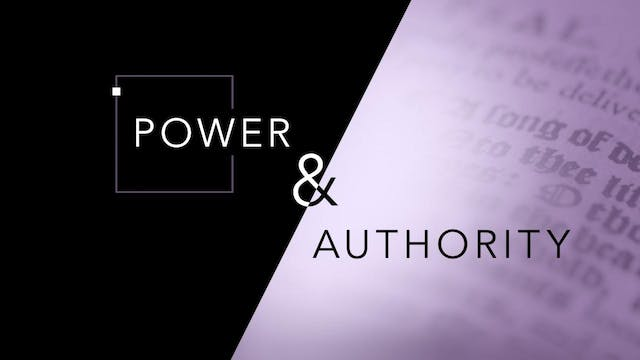 Power & Authority | John Paul Jackson