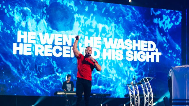 """I Went, I Washed, I Received"" 
