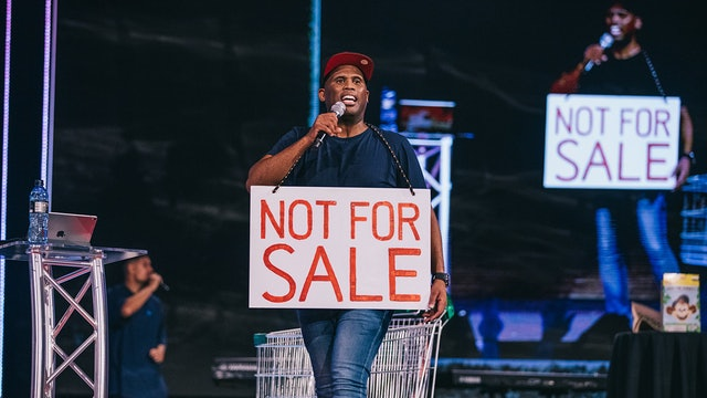 """Not for Sale"" 