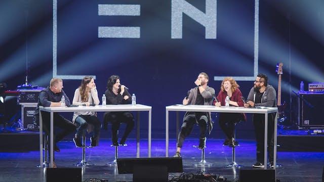"""Conversation Panel"" - Jeremy, Paul, ..."