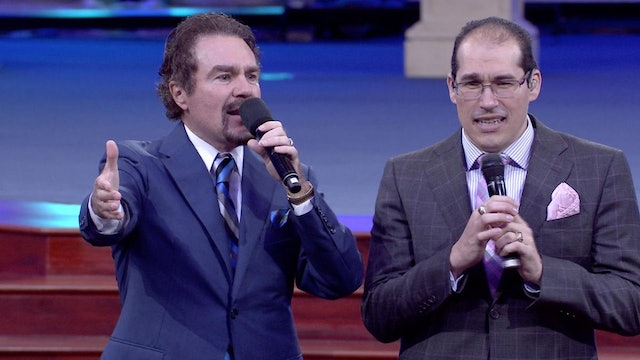 """The Anointing Will Set You Free"" (Spanish) 