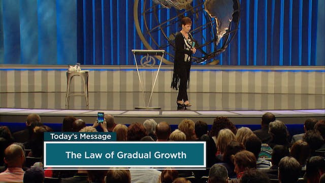 The Law of Gradual Growth | Part 1