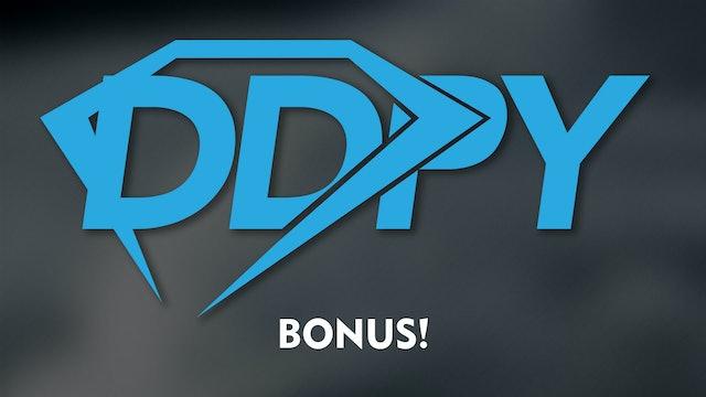 DDPY Bonus!