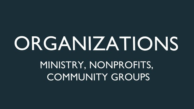 Ministry and Nonprofit License