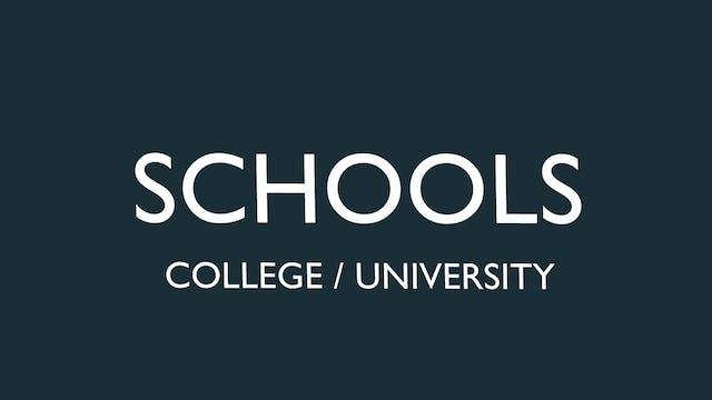 College / University License