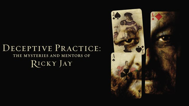 Deceptive Practice (HD Movie, trailer, and extras)