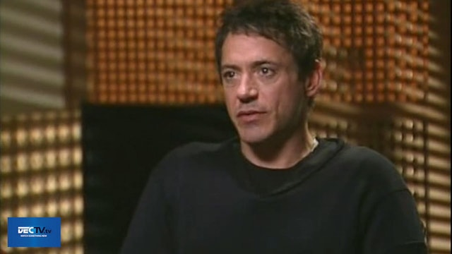 ROBERT DOWNEY JR Throwback Interview