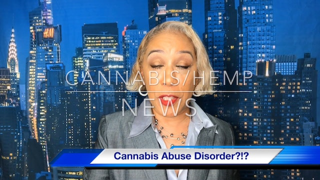 Cannabis - cannabis abuse disorder August 12, 2019 1080p