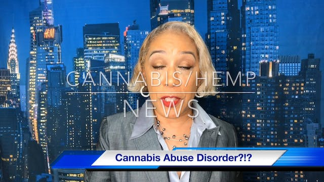 Cannabis - cannabis abuse disorder Au...