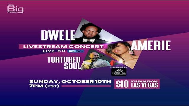 DECTV.TV LiveStream Amerie, Dwele, Tortured Soul and Digimix DJ Livestream.