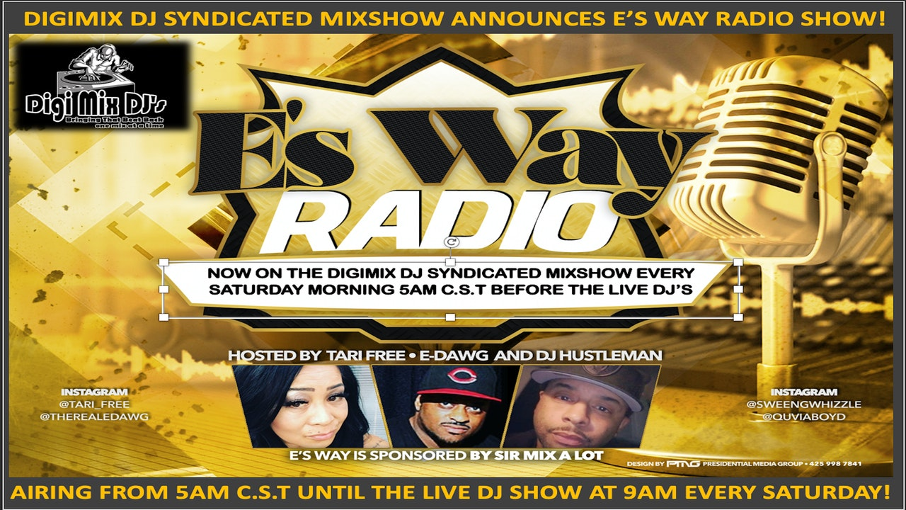 E's Way Radio Syndicated Radio Show