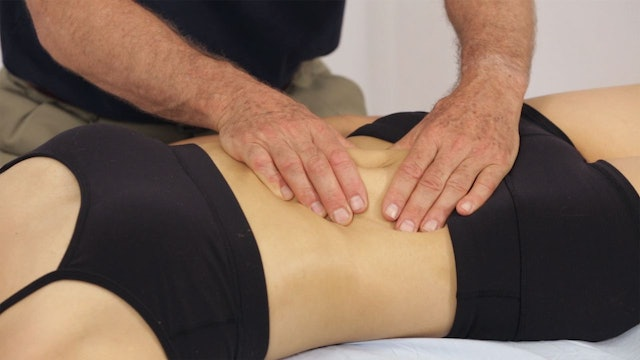 Deep Tissue Massage - An Integrated Full Body Approach: 26] Specific Goals And Strategies - Supine Position - The Abdomen