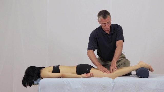 Deep Tissue Massage - An Integrated Full Body Approach: 19] Specific Goals - Prone Position Posterier Leg
