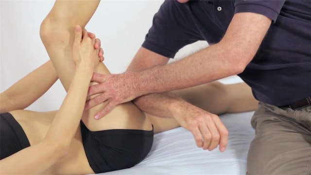 Deep Tissue Massage - An Integrated Full Body Approach: 23] Specific Strategies - Supine Position - Hamstrings