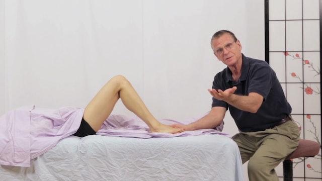 Deep Tissue Massage - An Integrated Full Body Approach: 24] Fluid Massage - Supine Position - Lower Body