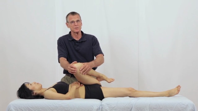 Deep Tissue Massage - An Integrated Full Body Approach: 25] Joint Mobilization - Supine Position - The Hip
