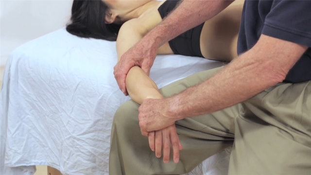 Deep Tissue Massage - An Integrated Full Body Approach: 28] Goals and Specific Technquies - Supine Position - The Arms
