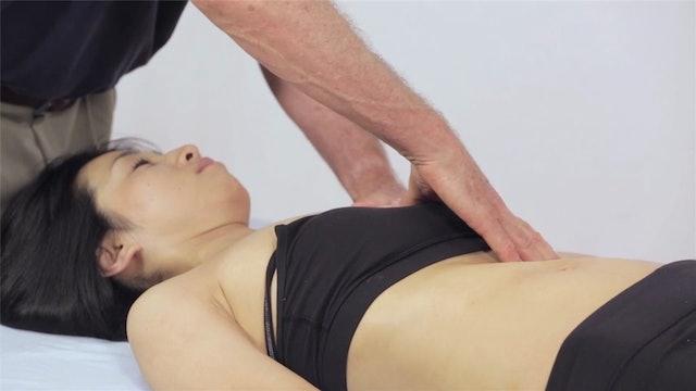 Deep Tissue Massage - An Integrated Full Body Approach: 29] Fluid Massage - Supine position - Upper Body