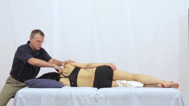 Deep Tissue Massage - An Integrated Full Body Approach: 31] Specific Strategies - Side-Lying Position - Upper Body