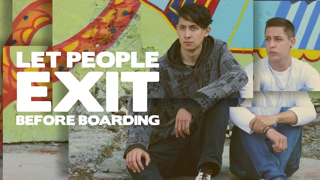Let People Exit Before Boarding
