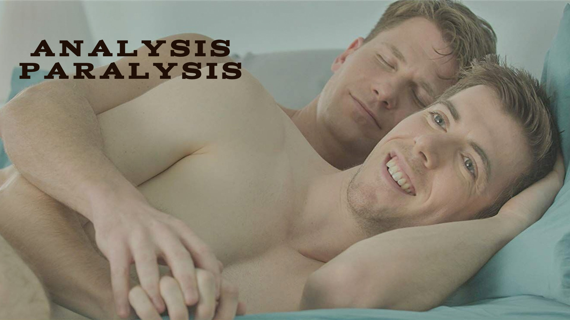 The hot desire of skin on skin gay lovers