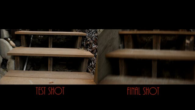 DM Tracking Shot Side by Side