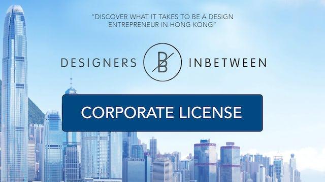 Designers Inbetween - Corporate license