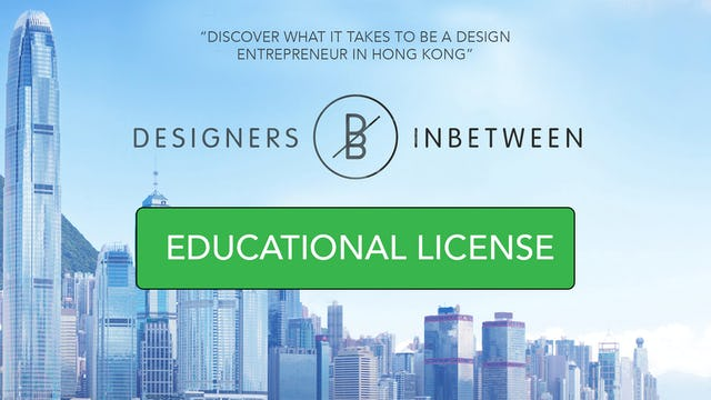 Designers Inbetween -  Educational license