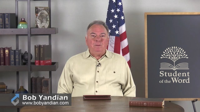 Episode 041-Victory In Adversity-Part 5-Bob Yandian Ministries-Student of the Word